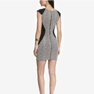 🎀Express giraffe print mini dress. 🎀